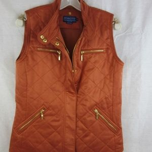 Pendleton Vest Size M Burnt Orange